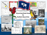 Wyoming State Study & Bulletin Board Set