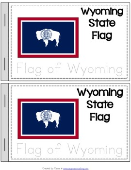 Wyoming State Symbols Notebook
