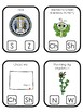 Wyoming State Symbols themed Beginning Sounds Clip It Preschool Card Game.