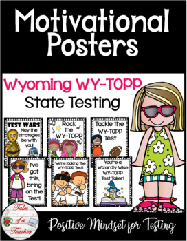 Wyoming WY-TOPP Test Motivational Posters