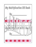 X 5 multiplication book