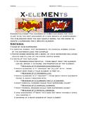 X-EleMENts Superhero Chemistry Project