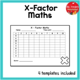 X-Factor Times Tables Mental Maths Game