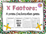 Prime Factorization Game
