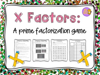 Prime Factorization Game