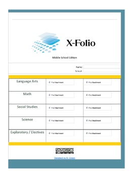 X-Folio Middle Portfolio