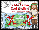 X Marks the Spot Active Rhythm hunting Game