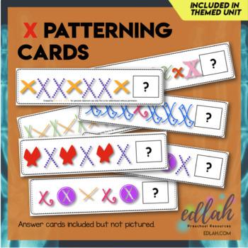 X Marks the Spot Patterning Cards