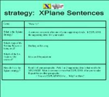 X-PLANE Sentence Strategy