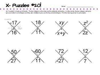 X-Puzzles