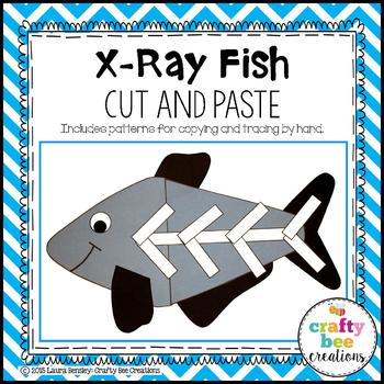 X-Ray Fish Cut and Paste