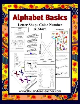 X - Teaching the letter X  Basic Alphabet Curriculum Daycare Preschool Kinder
