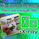 X = X-ray {Kiwiana Themed 'Make & Take' Alphabet Set}