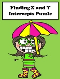 X and Y Intercept