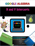 X and Y Intercepts Pear Deck Google Slides Lesson Distance Learning