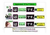 X ha Y Desu Japanese Grammar XはYです。