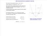 X-intercepts of Quadratic Functions