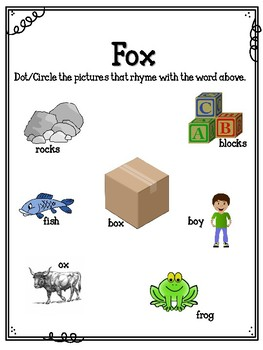 X is for Fox.  To Use with My Father's World.  Alphabet Worksheets.