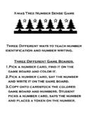 X-mas Tree Numbers Sense Game