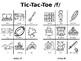 X's, O's,  F's, and V's- /F/ and /V/ Articulation Picture Tic-Tac-Toe