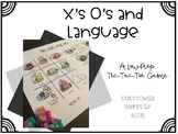X's and O's Language- A Low Prep Game