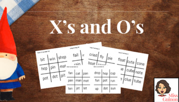 X's and O's Vowel Phonics Practice