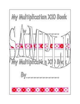 X10 Multiplication Book