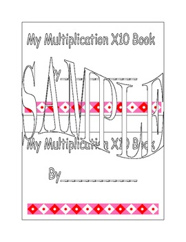 X10 Multiplication Book