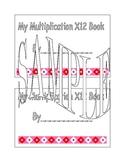X12 Multiplication Book