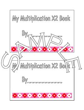X2 Multiplication Book