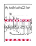X3 Multiplication Book