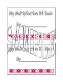 X4 Multiplication Book