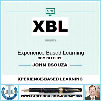 XBL: XPERIENCE-BASED LEARNING