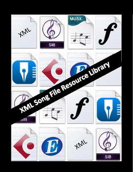 XML (Finale) Song File Resource Library