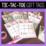 Tic Tac Toe Valentine Gift Tags