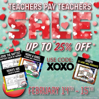 XOXO Valentine's Sale, LL Bible History Resources on Sale, 25% OFF