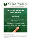 XTRA Weekly Lesson 32 (18 May 2020), Grades 3 to 8 (DISTAN