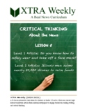 XTRA Weekly Lesson 5 (12 October 2020), Grades 3-5 and 6-8