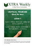 XTRA Weekly Lesson 7 (26 October 2020), Grades 3-5 and 6-8