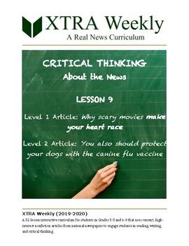 XTRA Weekly Lesson 9 (11 November 2019), Grades 3 to 8