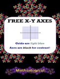 XY Axes FREEBIES