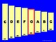 XYLOPHONE - Full Octave Scale w Moveable Notes--Create your Own Version! 22pages