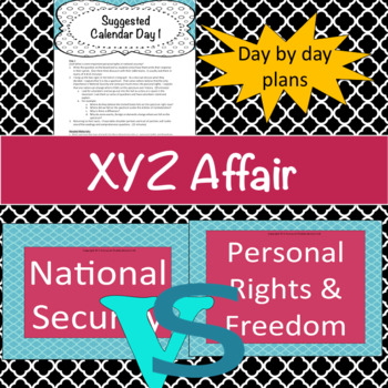 XYZ Affair-What is national security worth?
