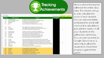 Xbox behavior achievements with desk and locker tags