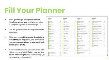 Xello Course Planner Tool
