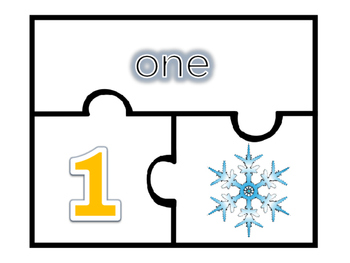 Christmas Numbers Puzzle