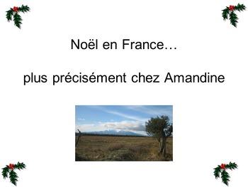 A French Xmas - Noel en France, chez Amandine