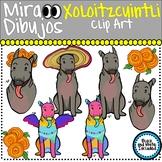 Xoloitzcuintli Dog Clip Art