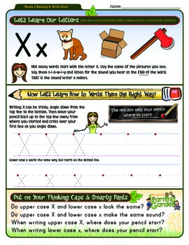 Xx Worksheet