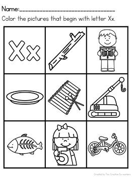 Letter X { Alphabet Practice }